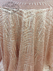 Rose Gold Gatsby Sequin