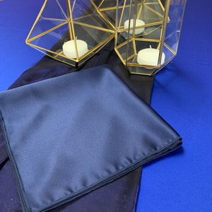 Mystique Satin Storm Navy Napkins