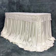 Load image into Gallery viewer, Ivory Harper Pleated Skirt