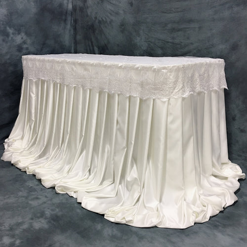 Ivory Harper Pleated Skirt