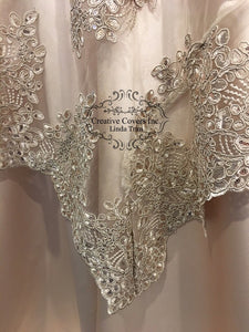 Champagne Sophie's Lace Bordered