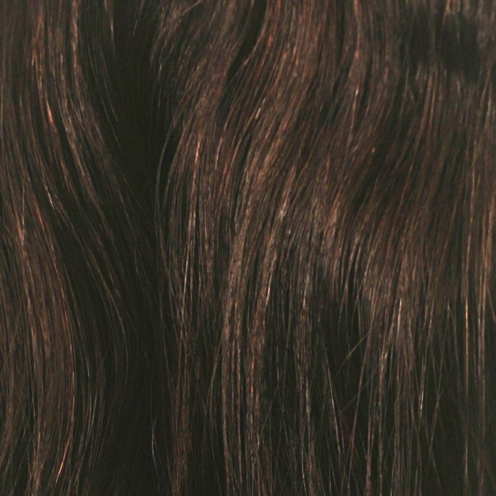 22 inches -Dark Chocolate Brown - DeLushious Hair Beautiful made easy, luxury hair extensions, wwwdelushioushair.com