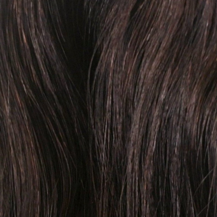 18 inches - Dark Chocolate Brown - DeLushious Hair Beautiful made easy, luxury hair extensions, wwwdelushioushair.com