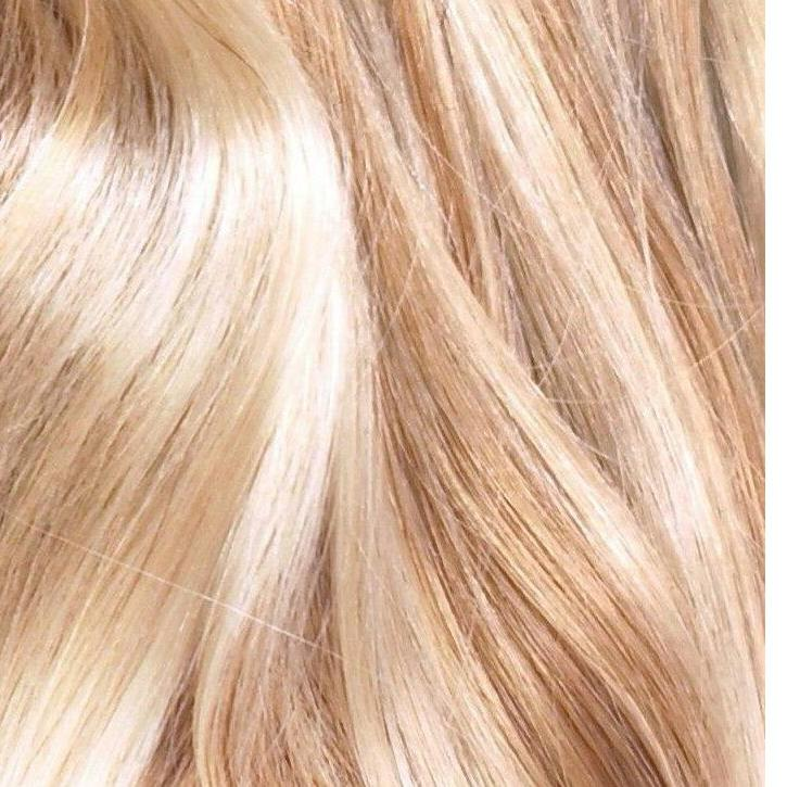 22 inches - Warm Vanilla Blonde - DeLushious Hair Beautiful made easy, luxury hair extensions, wwwdelushioushair.com