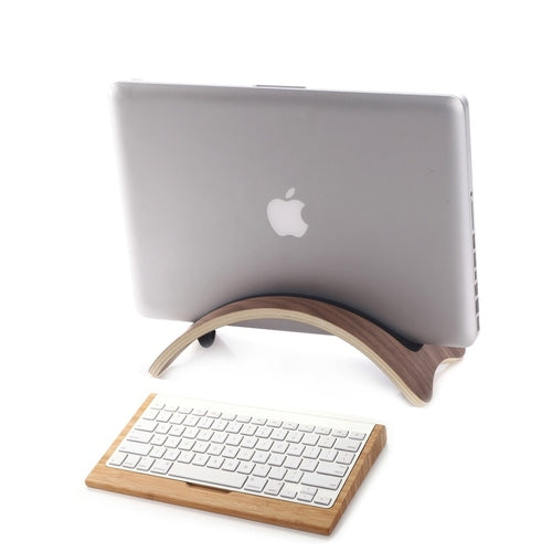 Bent Wood Macbook Holder