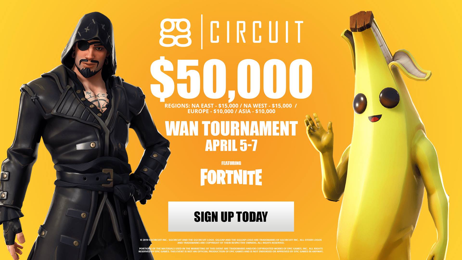 Fortnite Spring Regionals Entry GG Circuit