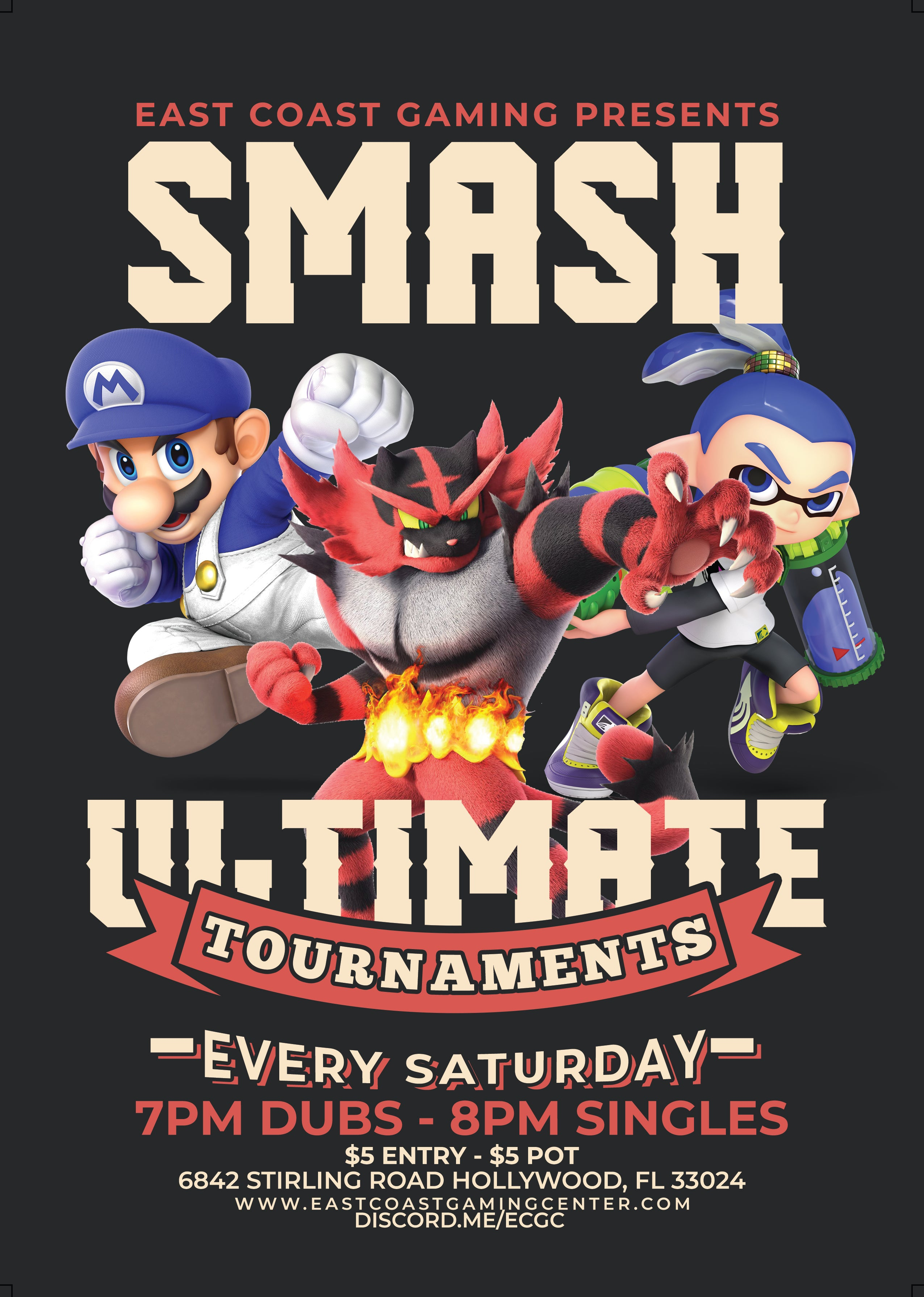 Smash Ultimate Weekly Tournament Every Saturday