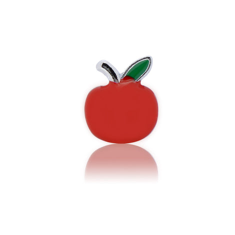 red apple slide charm