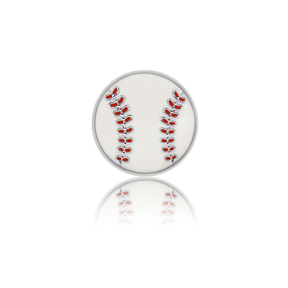 baseball 8mm slide charm