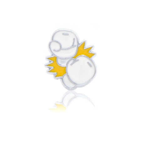 Boxing Gloves White Slide Charm