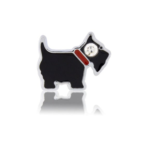 scottish dog slide charm