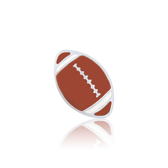 football 8mm slide charm