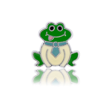 Silly Froggy Slide Charm