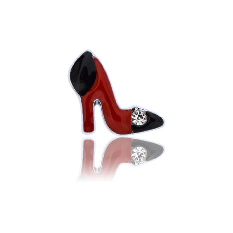 red high heel slide charm