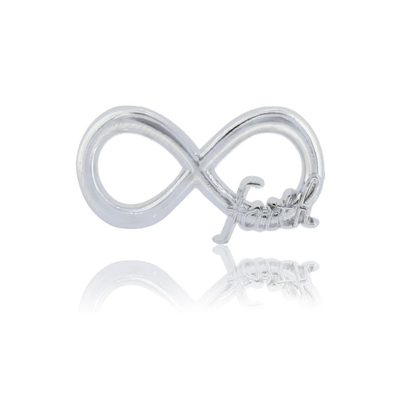 infinity faith slide charm