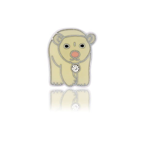 polar bear slide charm