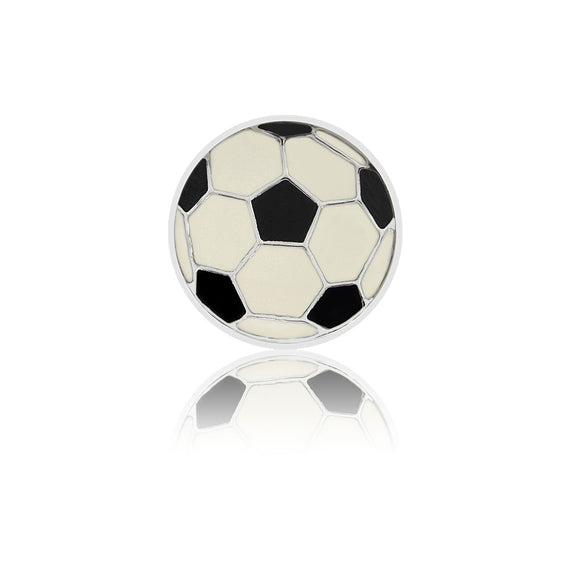 soccer 8mm slide charm