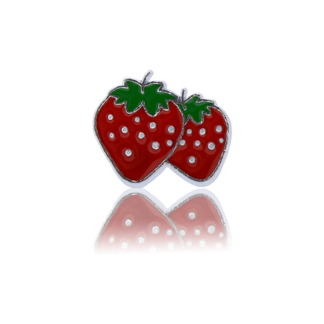 strawberries slide charm