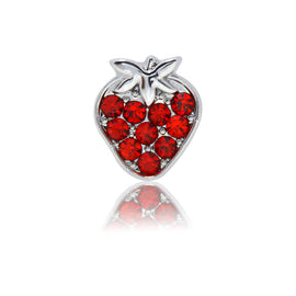 strawberry slide charm