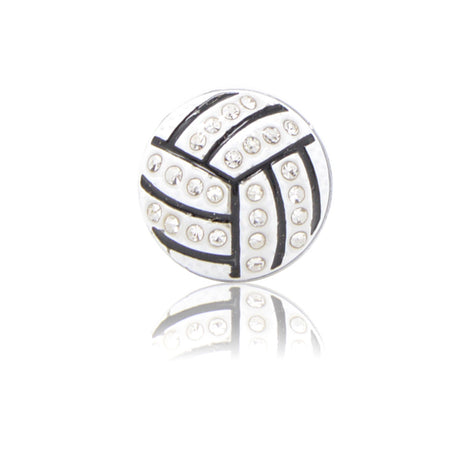 Bling Volleyball Slide Charm