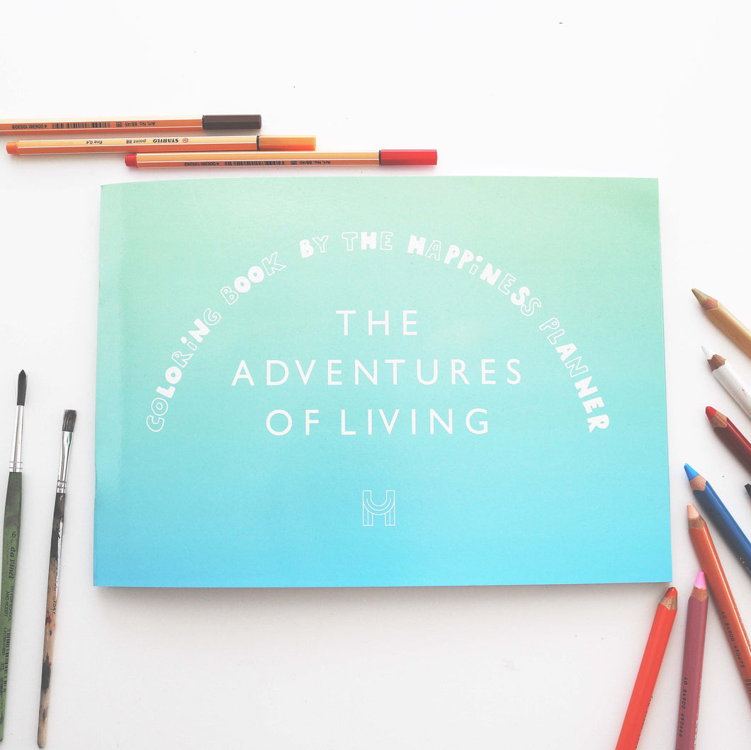 Adventures of Living coloring book