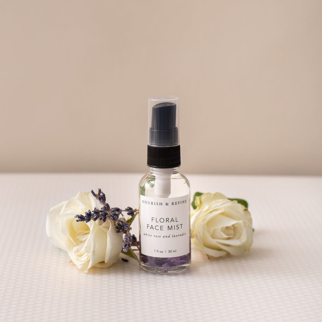 Crystal-Infused Lavender & Rose Water Face Mist