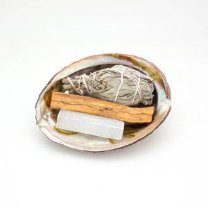 Crystal and sage energy kit