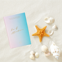 Load image into Gallery viewer, law of attraction journal and sea shells