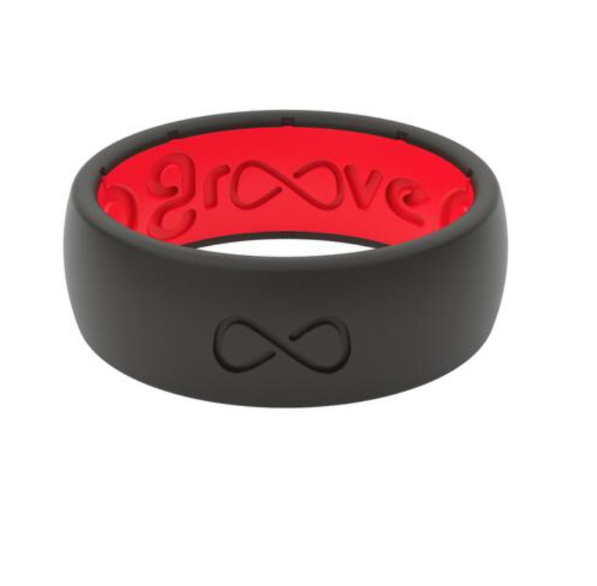 Men's Groove Silicone Ring