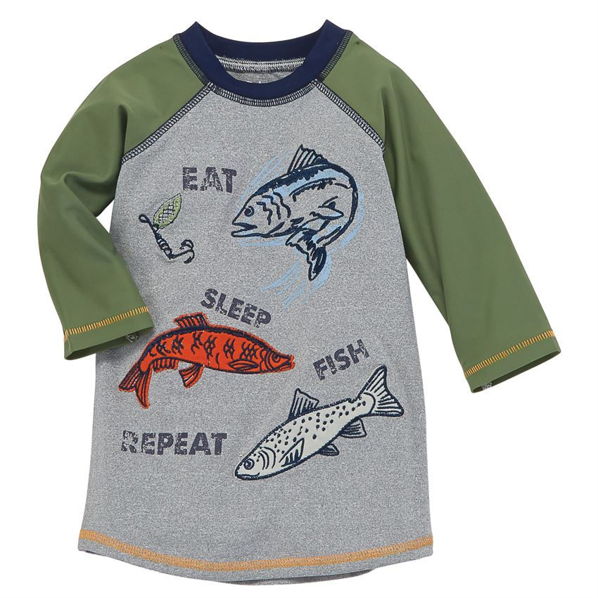 Mud Pie Boys' Swim Shirt