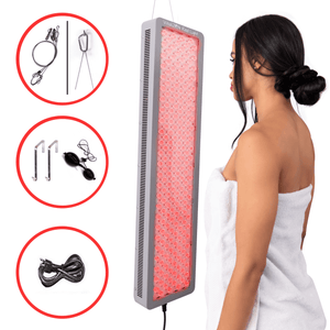 1000W Full Body Red Light Therapy, Red and Near-Infrared | High Power, Anti-Aging, Pain Relief, Energy and Performance | For Home, Office or Gym
