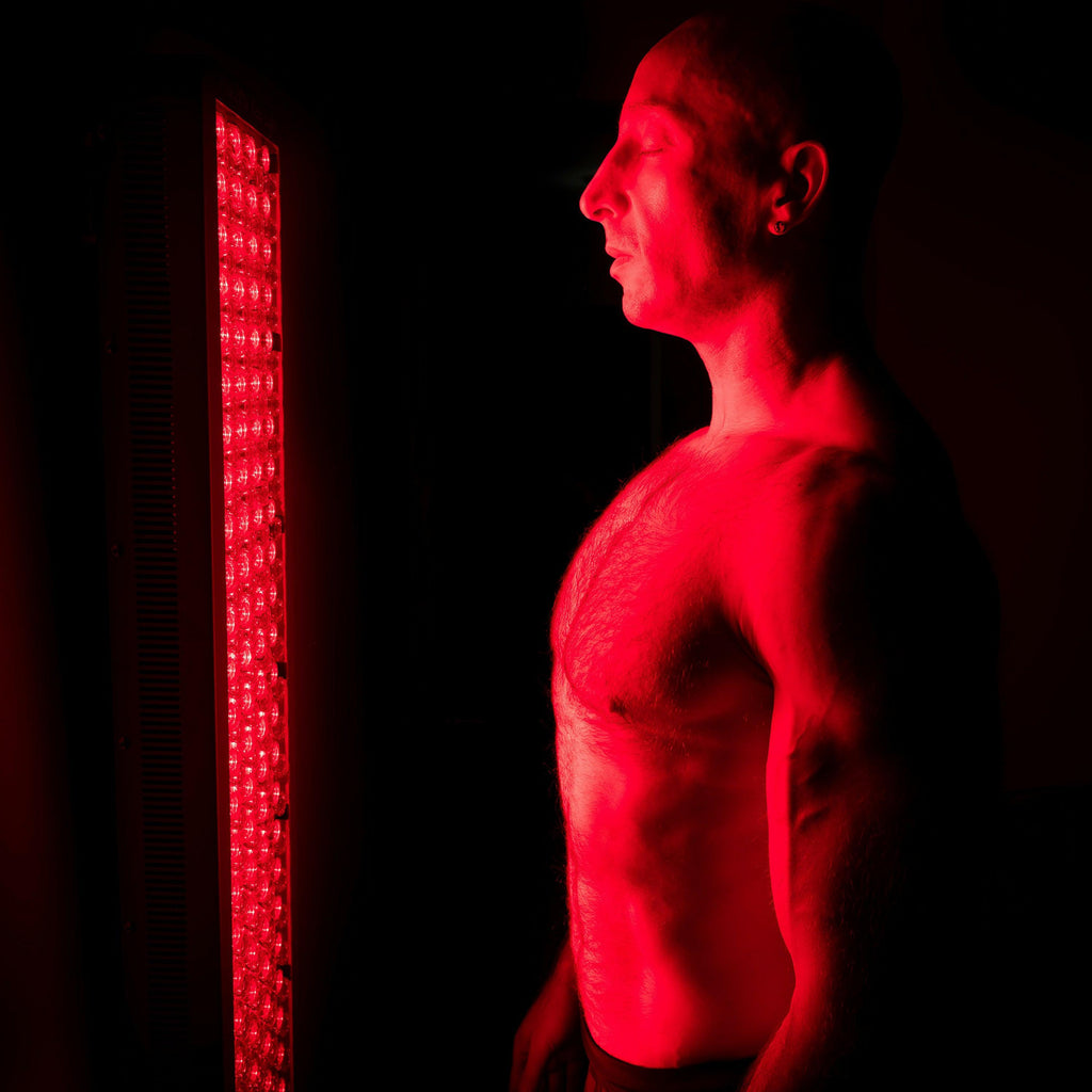 600 Watt 660nm Deep Red & 850nm Near-Infrared LED Light Therapy Full Body Device w/ 200 LED Lights | Collagen & Testosterone Boost