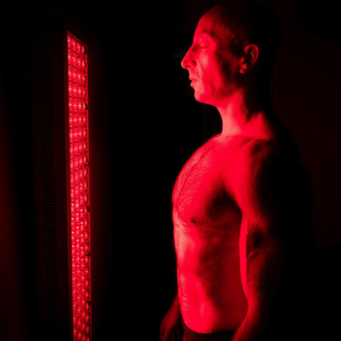 Image of 600 Watt 660nm Deep Red & 850nm Near-Infrared LED Light Therapy Full Body Device w/ 200 LED Lights | Collagen & Testosterone Boost