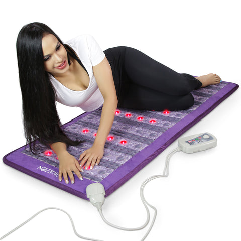 "Image of 59"" x 24"" PEMF Far Infrared Heating Mat 