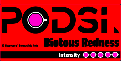 01 - Riotous Red - (Our Best Selling Coffee Pods!)