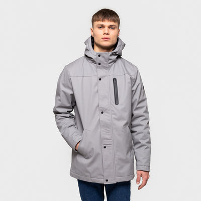 7443 RVLT PARKA JACKET LT GREY