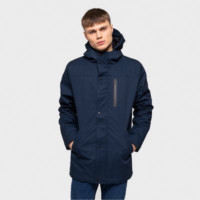 7443 RVLT PARKA JACKET NAVY