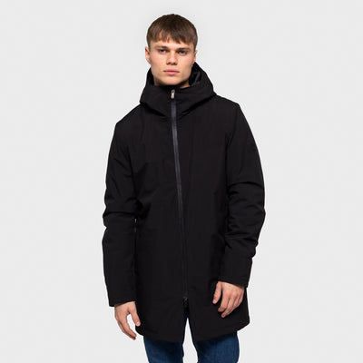 7641 PARKA JACKET BLACK