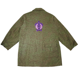 Sea Turtle Embroidered Canvas Jacket (L/XL)