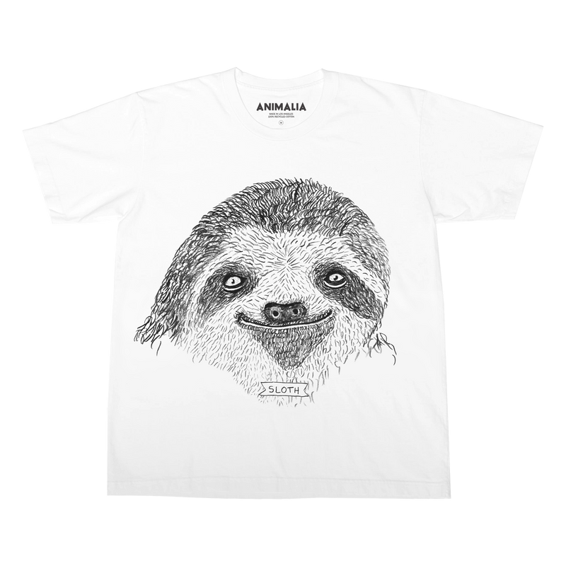 Brother Nature x Animalia Classic Sloth Tee