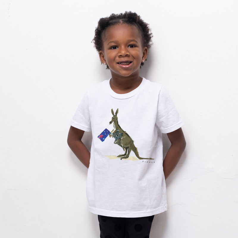 Drawbertson x Animalia Australia Kid Tee