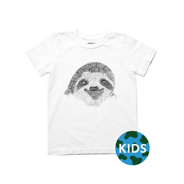 Brother Nature x Animalia Kid Sloth Tee