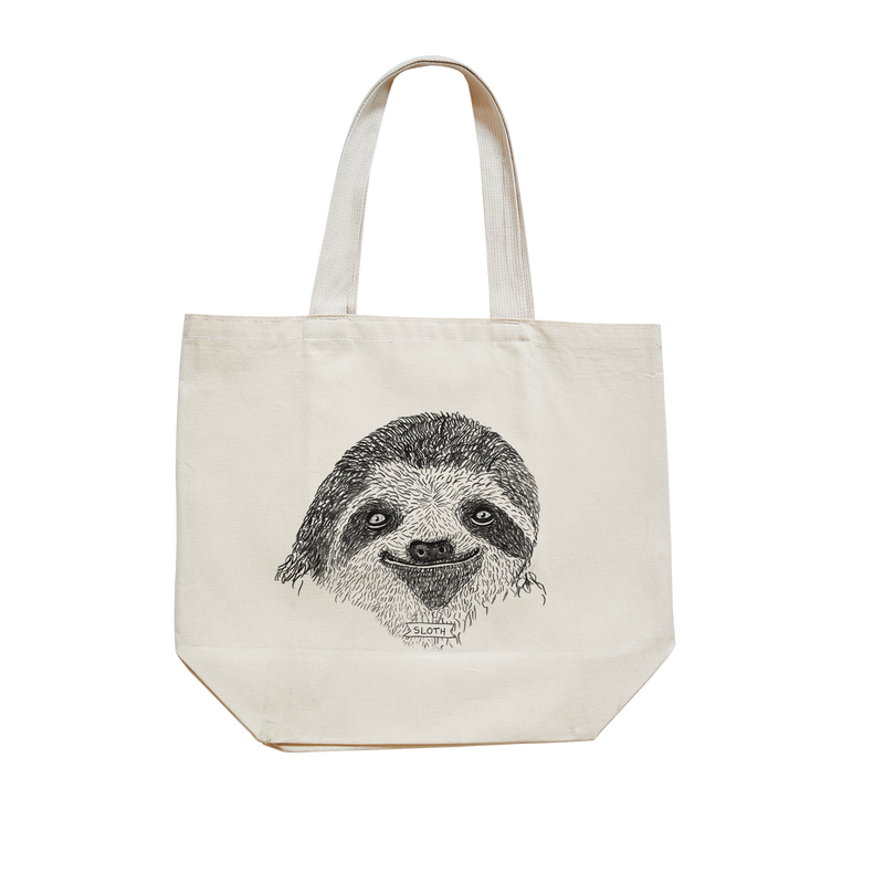 Brother Nature x Animalia Sloth Tote