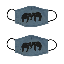 Elephant Face Mask - 2 Pack