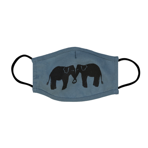 Elephant Face Mask - 1 Pack