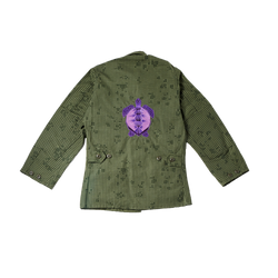 Sea Turtle Embroidered Jacket (XS/S)