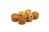 Mini Muffin Vanille met Chocolade chunks