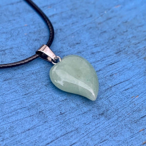 Stone Heart Necklaces