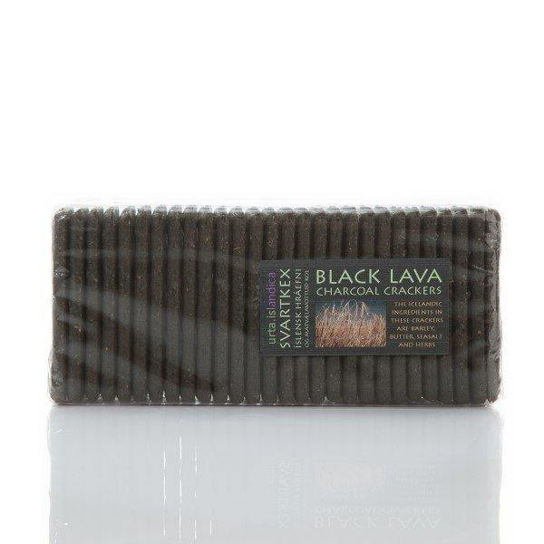 Black Lava Crackers