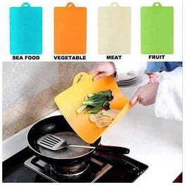 Chop & Pour - The Flexible Cutting Boards in Pack of 4